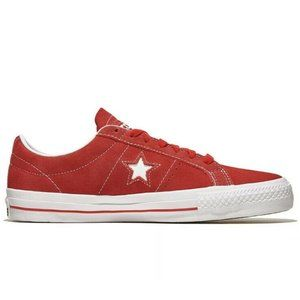 New Converse One Star Pro OX University Red